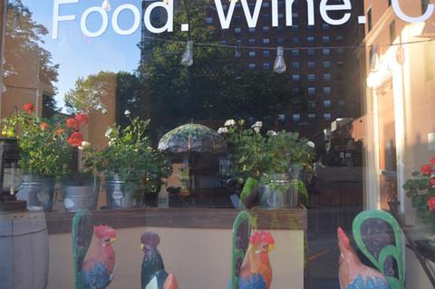 Food Wine Window