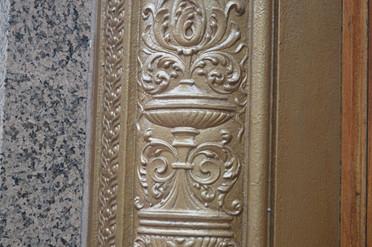 Granite Gold Scroll