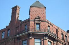 Brick Spiral Balcony