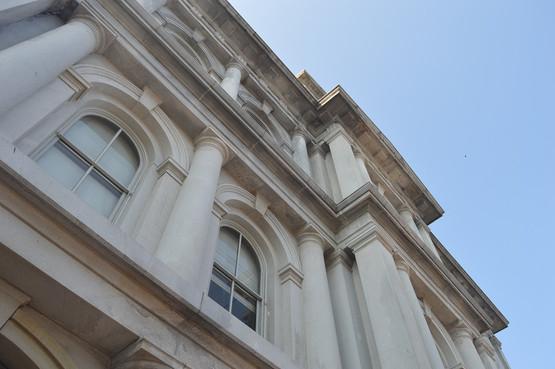 Custom House Pillars