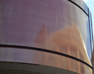 Copper Building Reflection