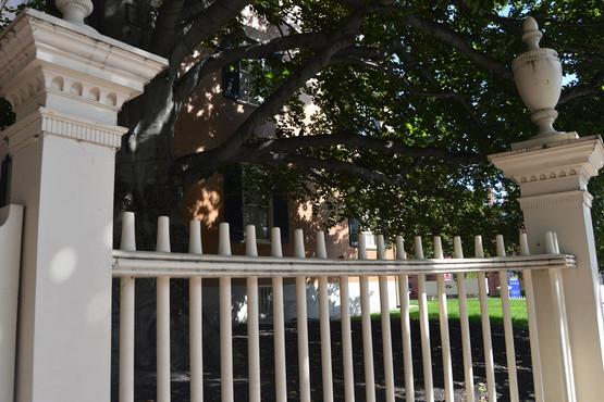 Fence Summer Shade