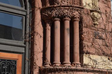 Columns Ivy Door