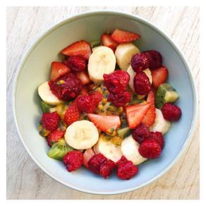 Recette : salade de fruits