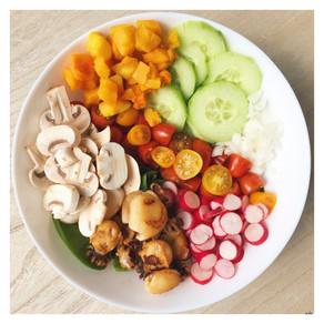 Idée repas : Salad Bowl