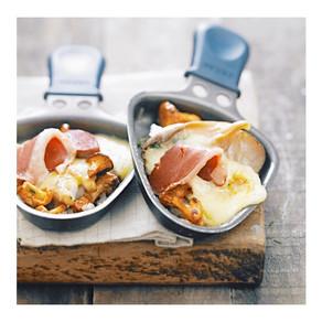 Recette : raclette diététique
