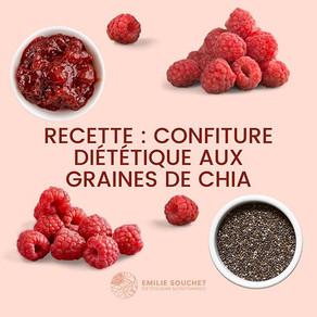 Recette : confiture diététique aux graines de chia