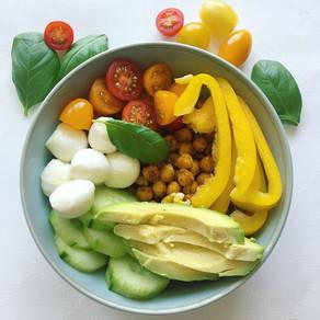 Recette : salade composée pois chiches