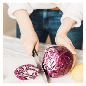 Recette : salade de chou rouge à l'asiatique