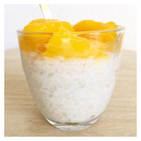 Recette : riz au lait de coco et mangue 🍚🥥