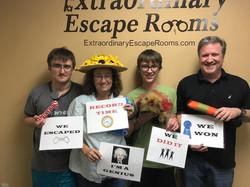 8-12-17 Dognapped escape room (