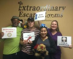 Dognapped escape room November.