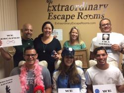 Fernandez Family 6-25-17 Jewel Heist escape room