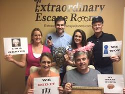 Jewel Heist Escape Room 6-7-17