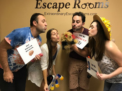 8-25-17  Double Date at escape room