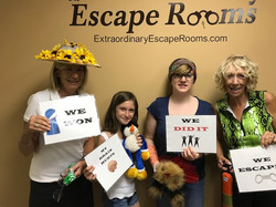 12-28-17 Julie and Carolyn escape Dognapped