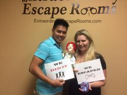Jewel Heist Escape Room 5-19-17
