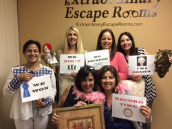 4-30-17 Jewel Heist Escape Room