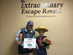 8-18-17 Brigitte and Micah escape