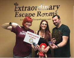 3-26-17 Jewel Heist Escape Room