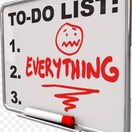 6 QUICK STEPS TO GETTING THINGS DONE