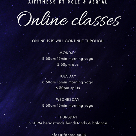 March online timetable