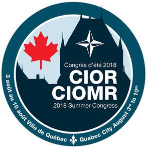 SUMMER CONGRESS, 5 – 10 AUGUST 2018, QUEBEC CITY, CANADA
