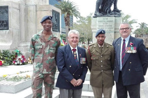 Western Cape JOA Lays Wreath at Cape Town Cenotaph