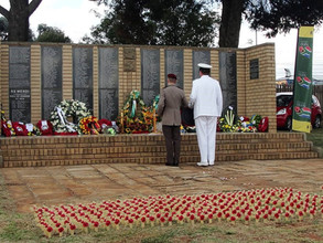 JOA National Committee Members Pay Tribute to Troopship Mendi Casualties at Soweto Memorial