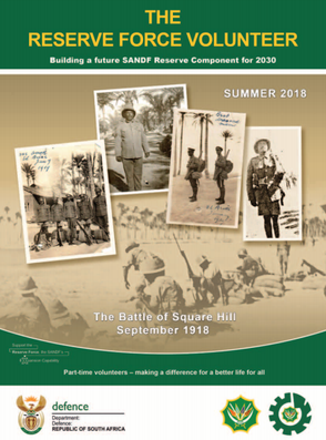 Reserve Force Volunteer Magazine Summer 2018 Edition Available Now