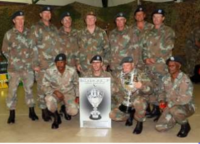 SA Army Combat Rifle Competition 2018 - Results