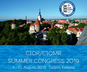 CIOR/CIOMR Summer Congress 2019