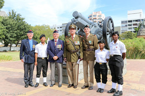South African Gunners remembered