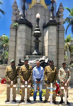 JOA Presence at Durban Cenotaph Remembrance Day Service