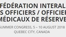 CIOR/CIOMR Summer Congress 2018