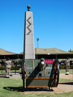 Reserve Force Council and Junior Officers' Association Pay Respect at 66th Annual National Gunners&#