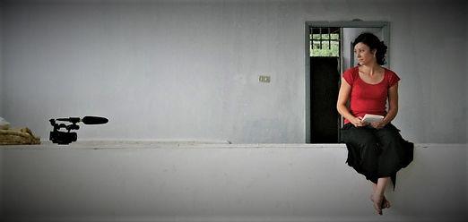 MARIE DELARUELLE PORTRAIT LIBAN 2O13 red