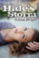 Hale's Storm by Alissa Bright, a novel about World War 2.  Best-seller Young Adult Historical Fiction