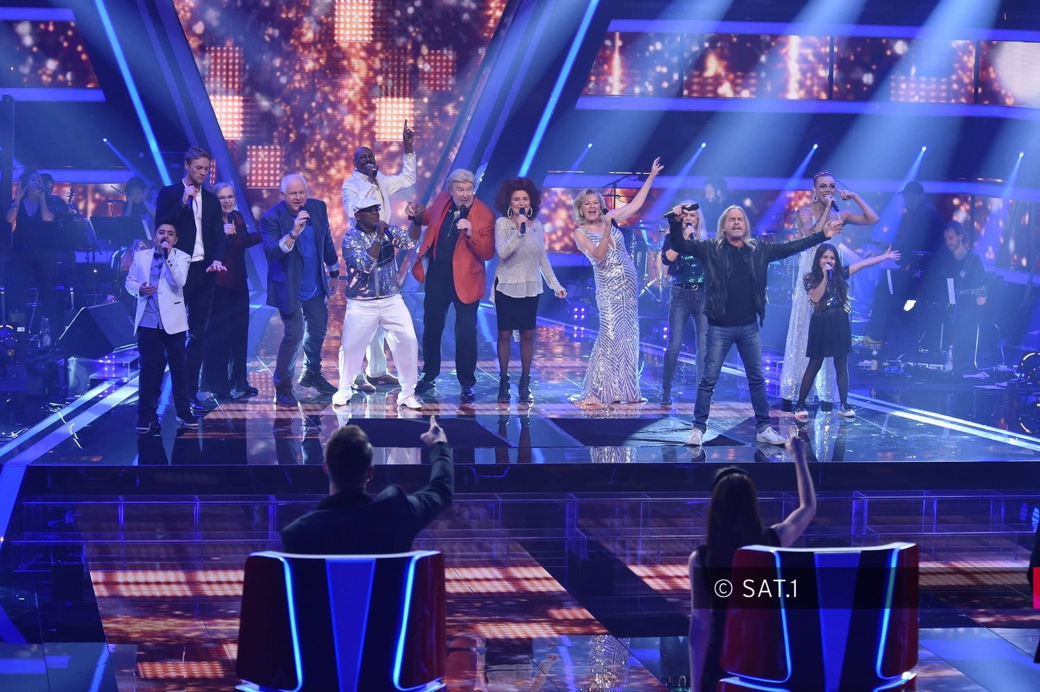 The Voice Senior Opening Show