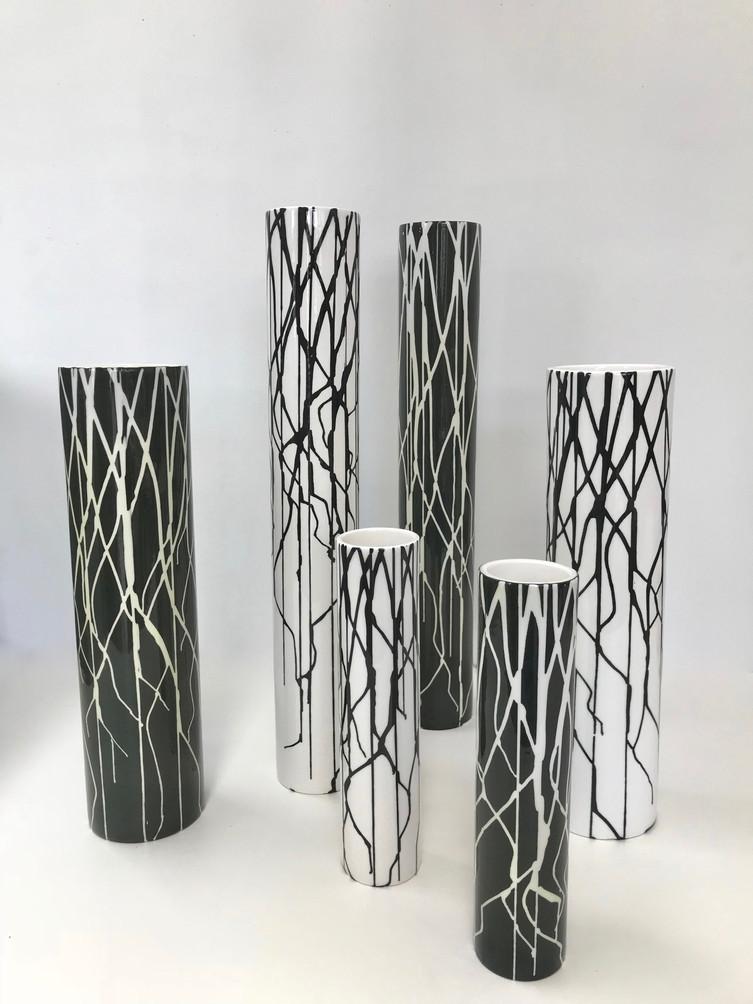 Silhouette Vases