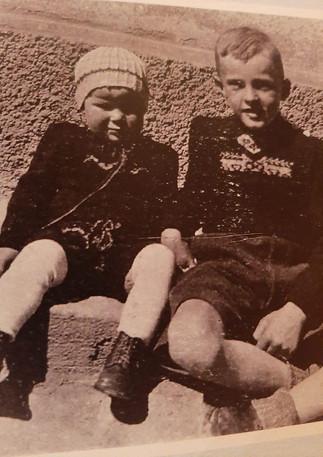 Monty und Bruder Rolf