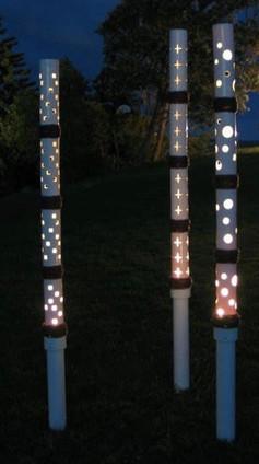 Classic Cut Out Light Poles