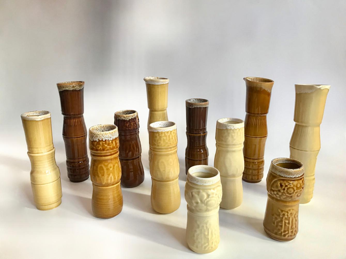 Cup Vases-Old School