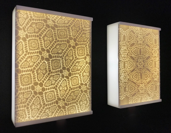 Embossed Lightboxes