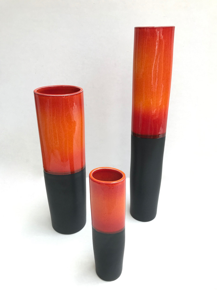 Flame Vases