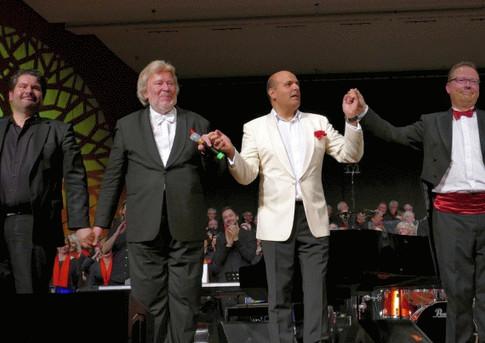 Monty mit Torsten Bader, Jay Alexander und Kai Müller