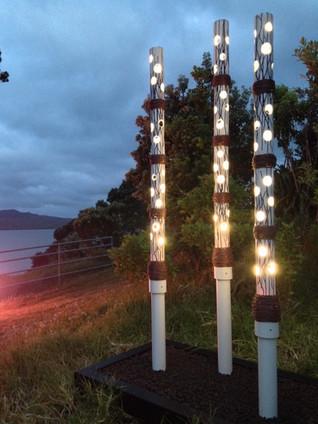 Silhouette Light Poles