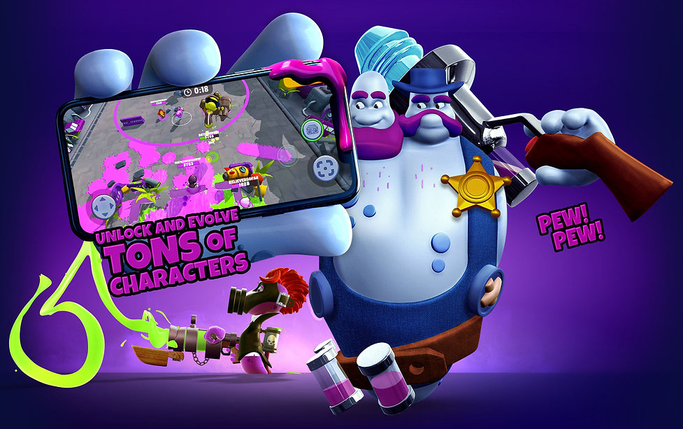 Battle Blobs Thugz Tons of characters