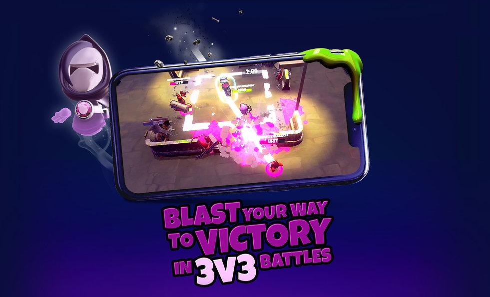 Battle Blobs 3vs3 Brawl Shade