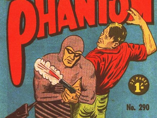 Phantom story...not a story about THE Phantom.